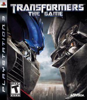 Transformers the Game - PS3 (Pre-owned)