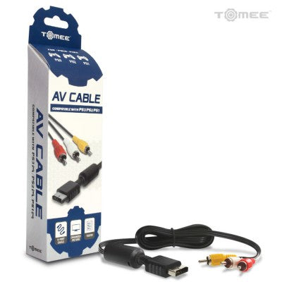 PS3/ PS2/ PS1 Tomee AV Cable (Retail) - PS3