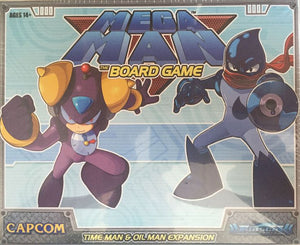 Mega Man: The Board Game Time Man/Oil Man Expansion