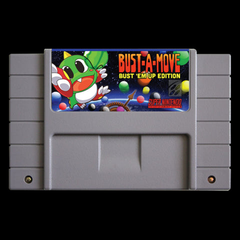 Bust-A-Move: Bust 'em Up Edition (Reproduction) - SNES (Pre-owned)