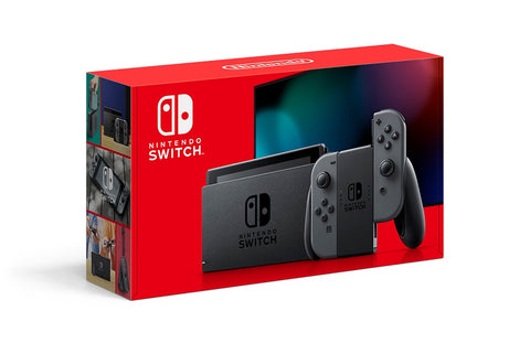 Nintendo Switch Console with Grey Joy-Con Gray System (2019 Version) (One Per Customer, Available for Pick Up Only)