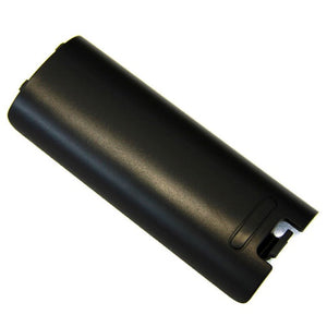 BLACK WII REMOTE BATTERY DOOR COVER WIIMOTE