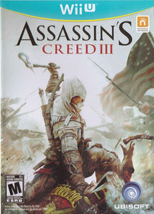 Assassin's Creed III - Wii U (Pre-owned)