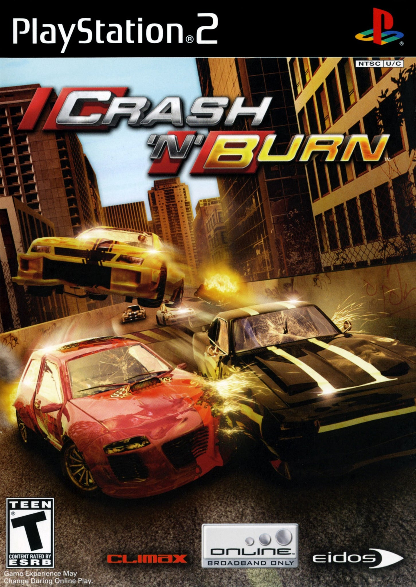 Crash N Burn - PS2 (Pre-owned)