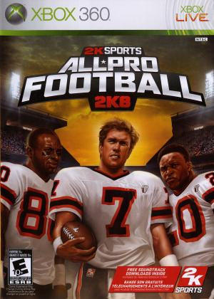 All Pro Football 2K8 - Xbox 360 (Pre-owned)