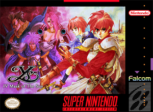 Ys IV: Mask of the Sun (Reproduction) - SNES (Pre-owned)