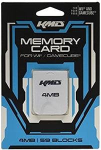 KMD 4MB (59 Blocks) Memory Card - GC