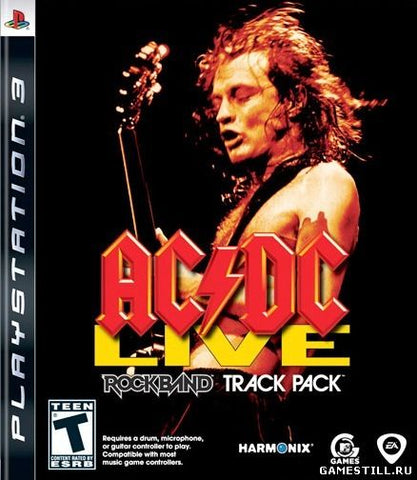AC/DC Live Rock Band Track Pack - PS3 (Pre-owned)