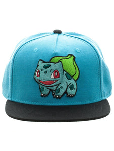 POKÉMON - BULBASAUR - Colour Block Snapback (Alternate SKU)