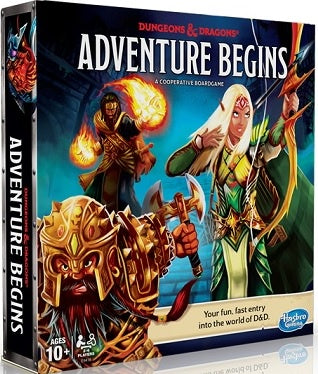Dungeons & Dragons Adventure Begins Board Game