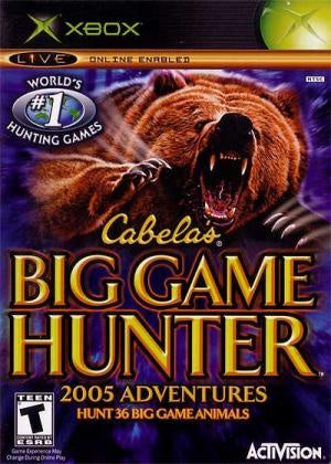 Cabela's Big Game Hunter 2005 Adventures - Xbox (Pre-owned)
