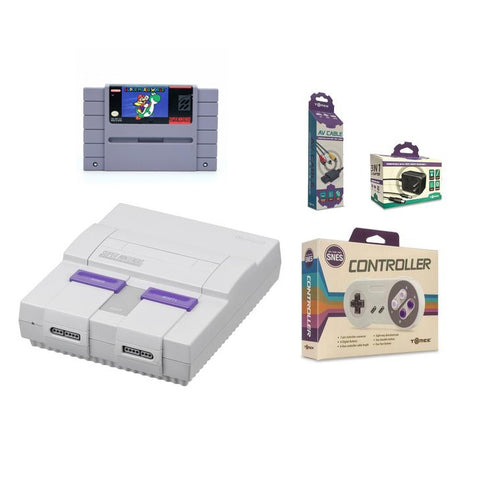 Super Nintendo System Console with Super Mario World Bundle