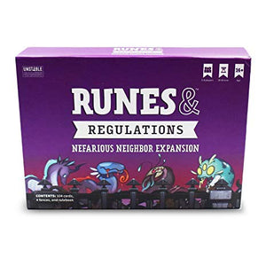 Runes & Regulations: Nefarious Neighbor Expansion