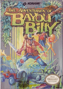 The Adventures of Bayou Billy - NES (Pre-owned)