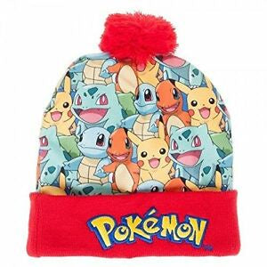 POKEMON - Sublimated Pom Beanie
