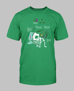 Bulbasaur Anatomy T-Shirt
