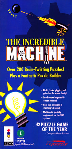 The Incredible Machine (Long Box) - 3DO (Pre-owned)