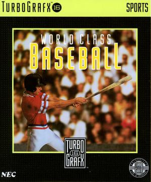 World Class Baseball - TurboGrafx-16 (Pre-owned)