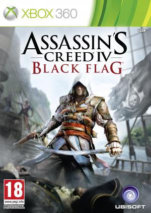 Assassin's Creed IV: Black Flag - Xbox 360 (Pre-owned)
