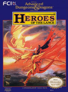 Advanced Dungeons & Dragons Heroes of the Lance - NES (Pre-owned)