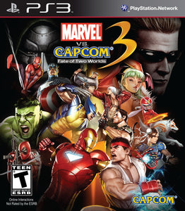 Marvel Vs. Capcom 3: Fate of Two Worlds - PS3 (Pre-owned)