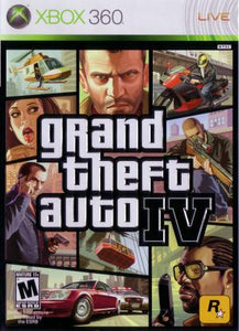 Grand Theft Auto IV - Xbox 360 (Pre-owned)