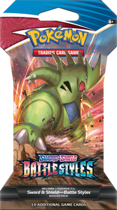 Pokemon Battle Styles - Sleeved Booster Pack (Pre-order)