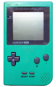 Game Boy Pocket Green MGB-001 System Console