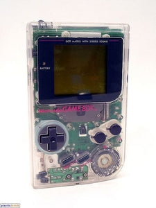Original Clear Game Boy Play it Loud DMG-01 System Console