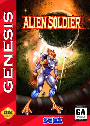 Alien Soldier (Reproduction) - Genesis (Pre-owned)
