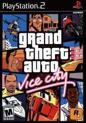 Grand Theft Auto Vice City - PS2 (Pre-owned)