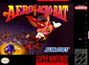 Aero the Acro-Bat - SNES (Pre-owned)