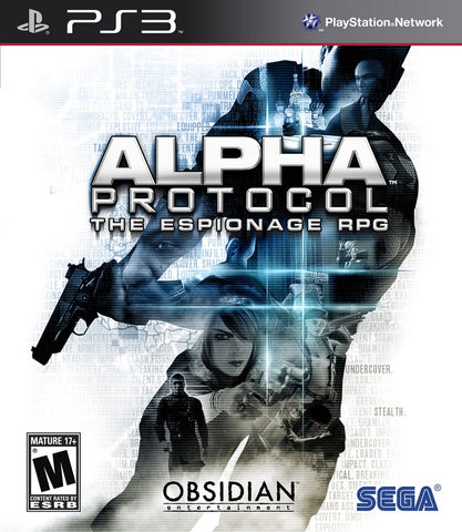 Alpha Protocol - PS3 (Pre-owned)