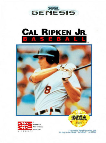 Cal Ripken Jr. Baseball - Genesis (Pre-owned)