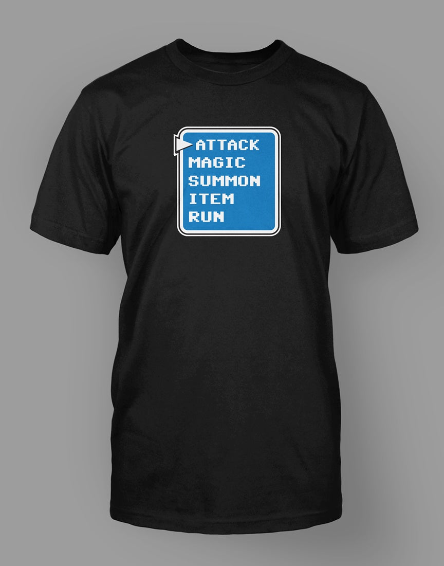 Attack Menu T-Shirt