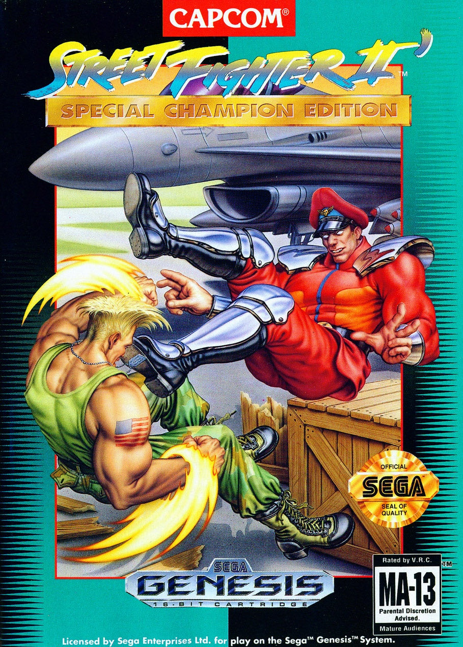 Street Fighter II: Special Champion Edition - Genesis (Pre-owned)