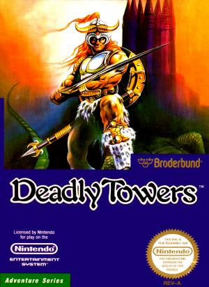Deadly Towers - NES (Pre-owned)