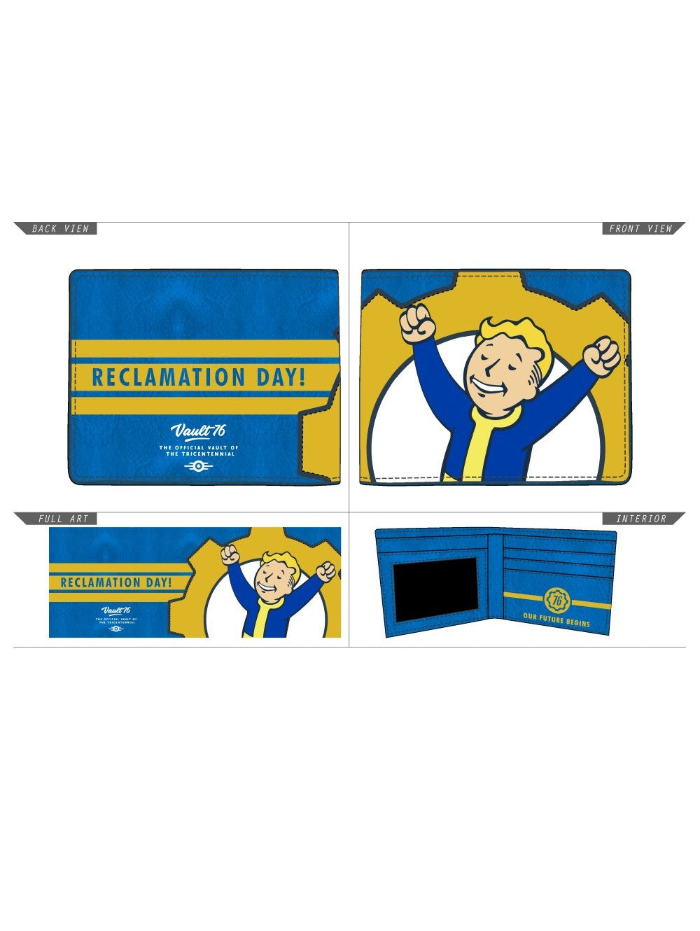 FALLOUT 76 - Vault Boy Reclamation Day Bifold
