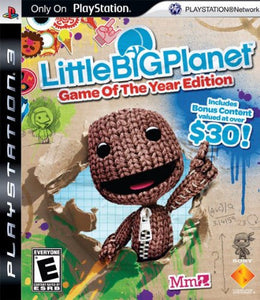 LittleBigPlanet Game of the Year Edition - PS3 (Pre-owned)