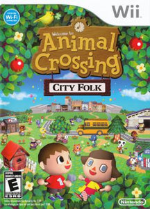 Animal Crossing City Folk - Wii (Pre-owned)