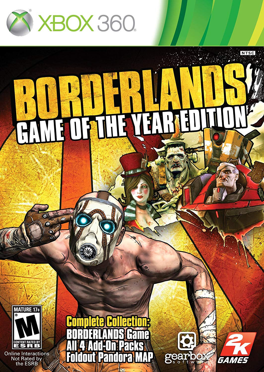 Borderlands Game of the Year Edition - Xbox 360 (Pre-owned)