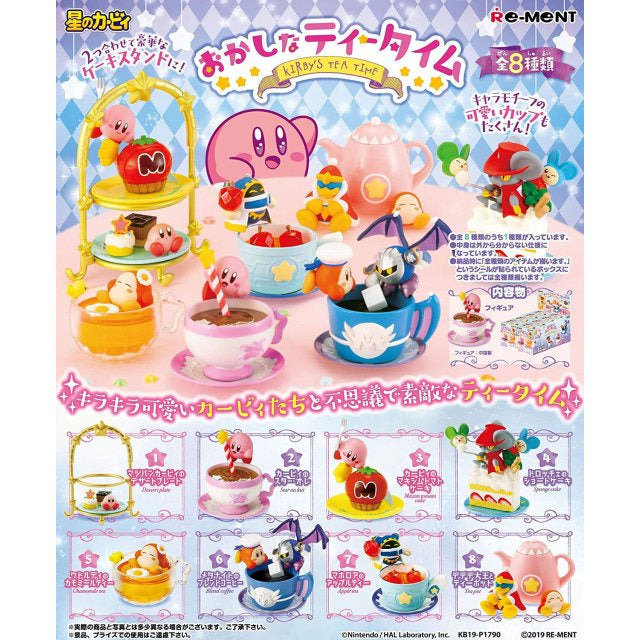 KIRBY'S DREAM LAND OKASHINA TEA TIME (1 RANDOM BLIND BOX)