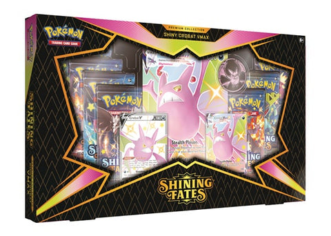 Shining Fates Premium Collection Box - Shiny Crobat V (Limit 1 Per Customer)