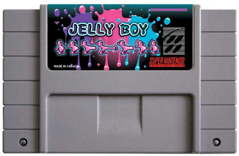 Jelly Boy (Reproduction) - SNES (Pre-owned)