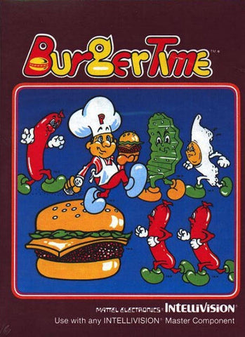 BurgerTime - Intellivision (Pre-owned)