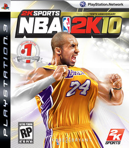 NBA 2K10 - PS3 (Pre-owned)