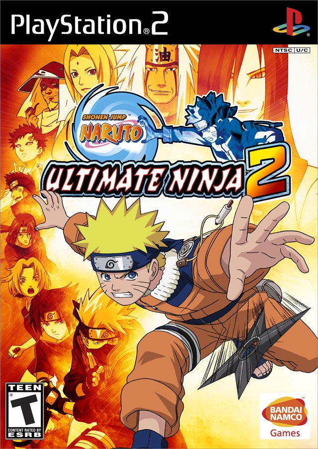 Naruto Ultimate Ninja 2 - PS2 (Pre-owned)