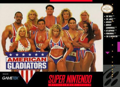 American Gladiators - SNES (Pre-owned)