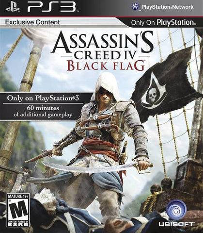 Assassin's Creed IV: Black Flag - PS3 (Pre-owned)