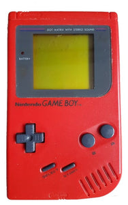 Original Red Game Boy Play it Loud DMG-01 System Console